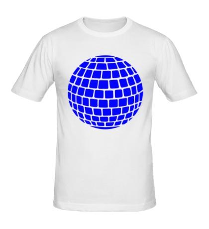 Мужская футболка Зеркальный шар