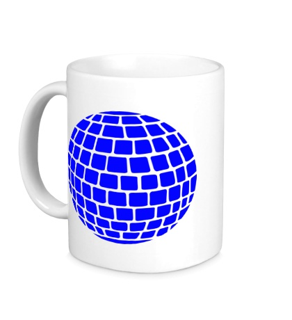 Керамическая кружка Зеркальный шар