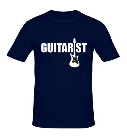 Мужская футболка Guitarist