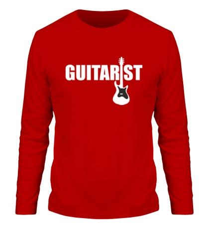 Мужской лонгслив Guitarist