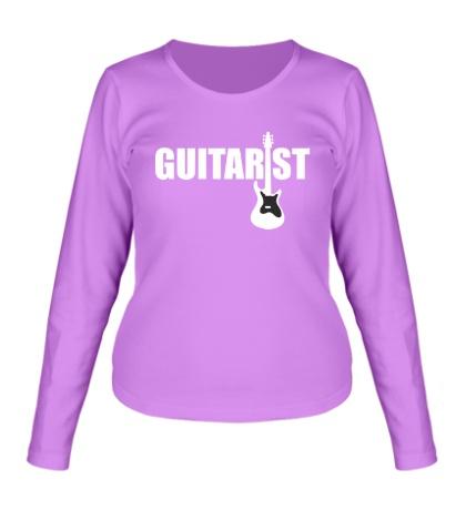 Женский лонгслив Guitarist