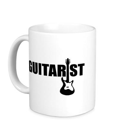 Керамическая кружка Guitarist