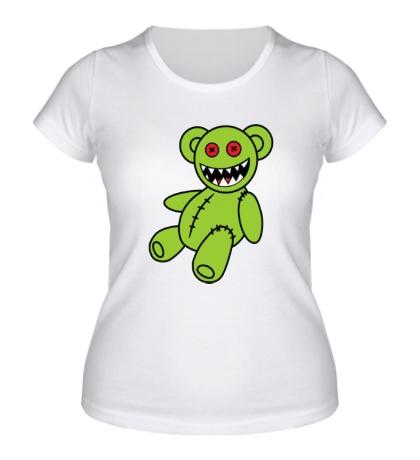 Женская футболка Зомбомишка