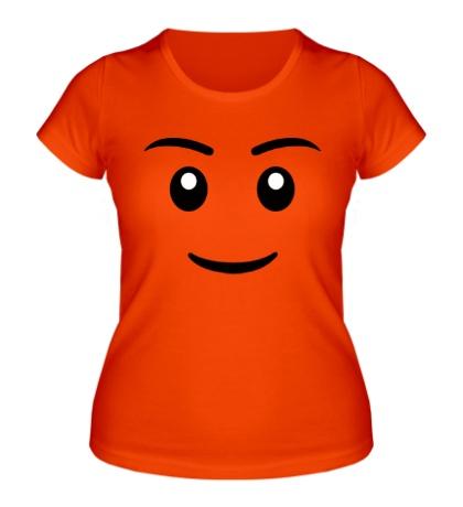 Женская футболка Игрушечное лицо