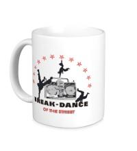 Керамическая кружка Break-Dance of the Street