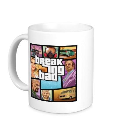 Керамическая кружка Breaking Bad: GTA Poster
