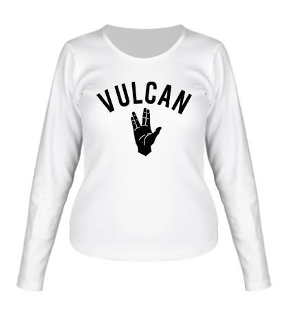 Женский лонгслив Vulcan
