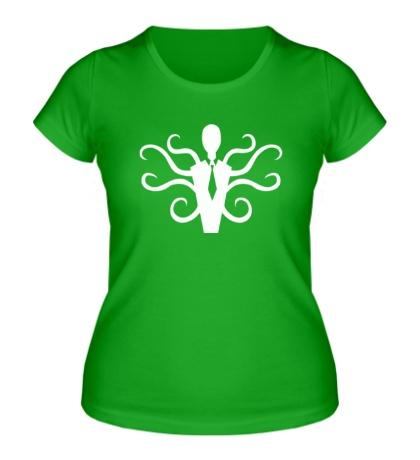 Женская футболка Slender