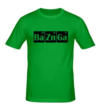 Мужская футболка Ba-Zn-Ga