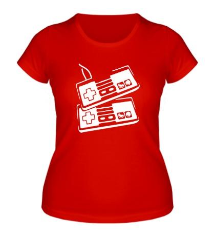 Женская футболка Dendy Joysticks