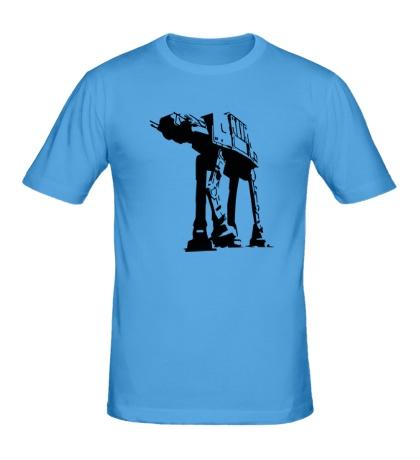 Мужская футболка Робот слон