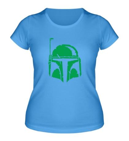 Женская футболка Шлем наёмника