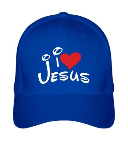 Бейсболка I love Jesus