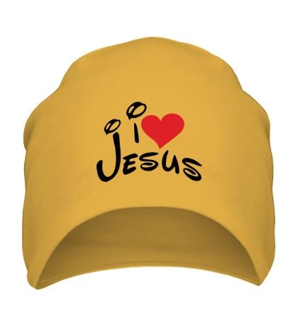 Шапка I love Jesus