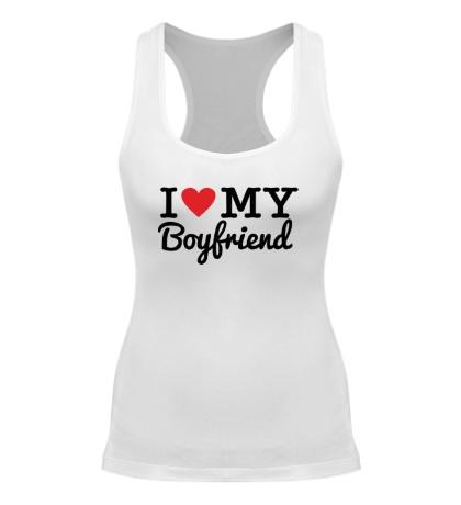 Женская борцовка I love my boyfriend