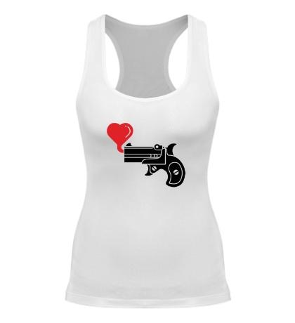 Женская борцовка Love gun