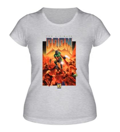 Женская футболка «The Ultimate Doom»