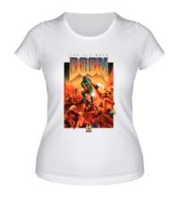 Женская футболка The Ultimate Doom