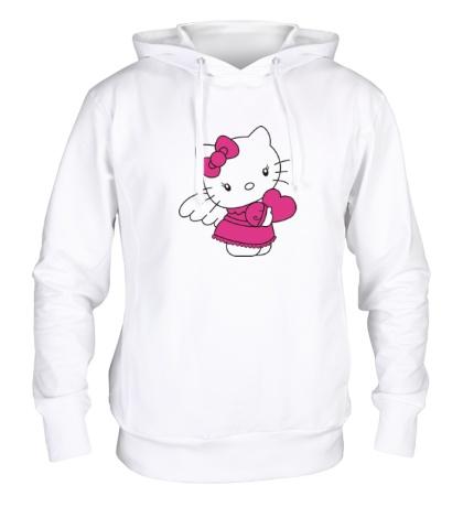 Толстовка с капюшоном Kitty-ангел