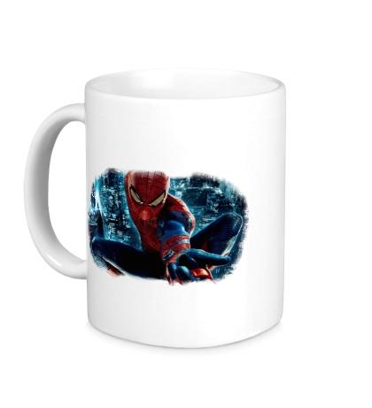 Керамическая кружка Новый Человек-паук