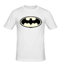 Мужская футболка Светящийся Бэтмен