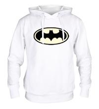 Толстовка с капюшоном Светящийся Бэтмен
