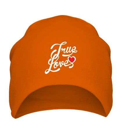 Шапка True love
