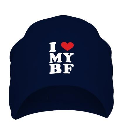 Шапка I love my bf i love my boyfriend