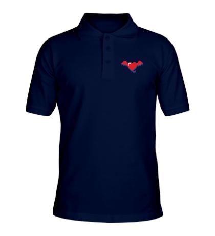Рубашка поло Демоническое сердце
