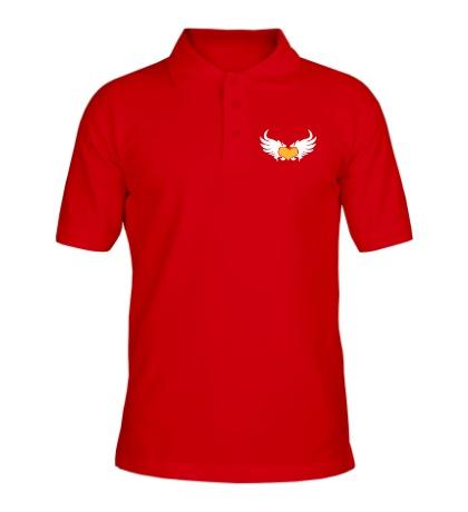 Рубашка поло Сердце с крыльями