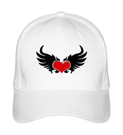 Бейсболка Сердце с крыльями