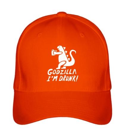 Бейсболка Godzilla Im Drunk!