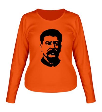 Женский лонгслив Виссарионович Сталин