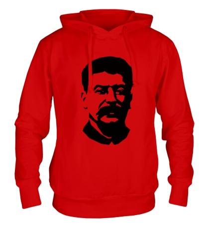 Толстовка с капюшоном Виссарионович Сталин