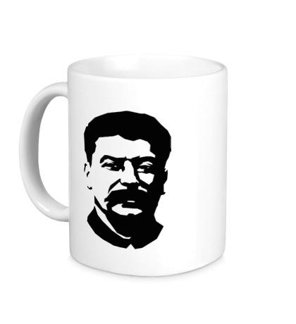 Керамическая кружка Виссарионович Сталин
