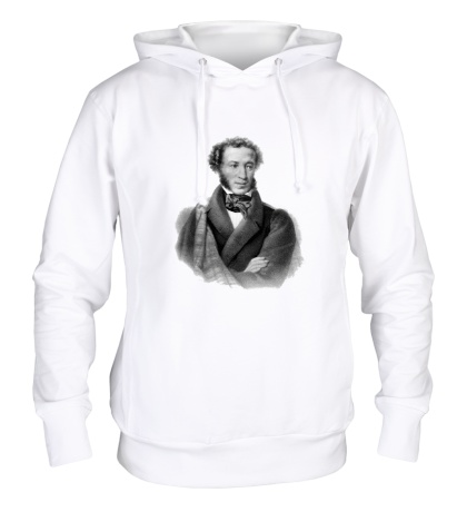Толстовка с капюшоном Александр Пушкин