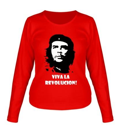 Женский лонгслив Che Guevara: Viva La Revolution
