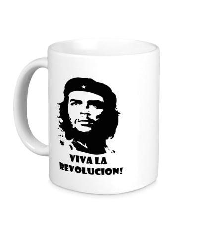 Керамическая кружка Che Guevara: Viva La Revolution