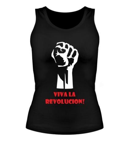 Женская майка Viva La Revolucion