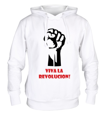 Толстовка с капюшоном Viva La Revolucion