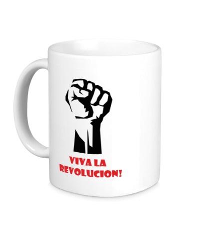 Керамическая кружка Viva La Revolucion