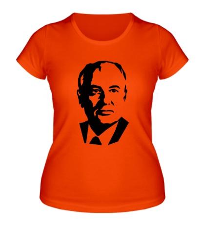 Женская футболка Михаил Горбачев