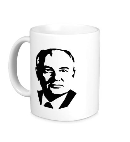 Керамическая кружка Михаил Горбачев