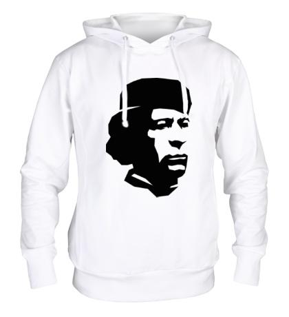 Толстовка с капюшоном Революционер Каддафи