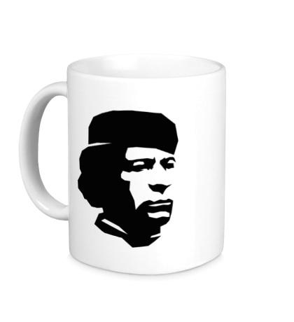 Керамическая кружка Революционер Каддафи