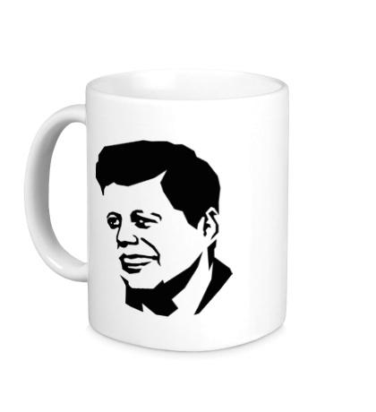 Керамическая кружка Джон Кеннеди
