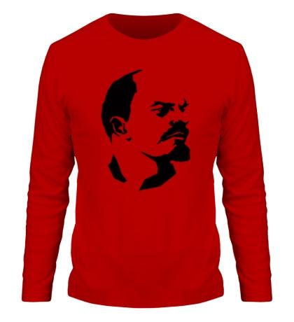 Мужской лонгслив Владимир Ленин