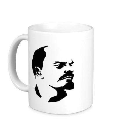 Керамическая кружка Владимир Ленин