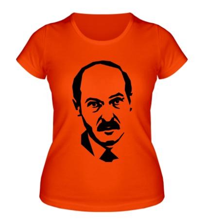 Женская футболка Александр Лукашенко