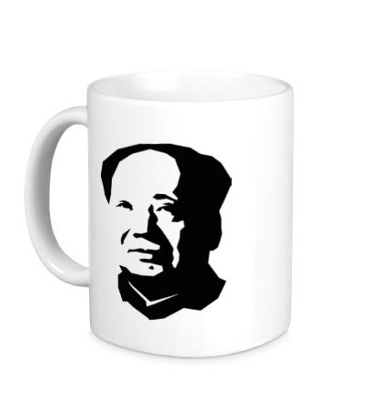 Керамическая кружка Мао Дзе Дун